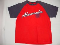 Abercrombie&Fitch アバクロ ラグランTシャツ