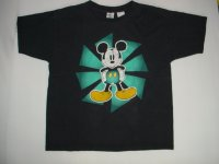 ミッキーマウス プリントTシャツ