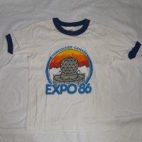 カナダ EXPO86 リンガーシャツ
