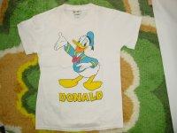 ドナルド プリントTシャツ