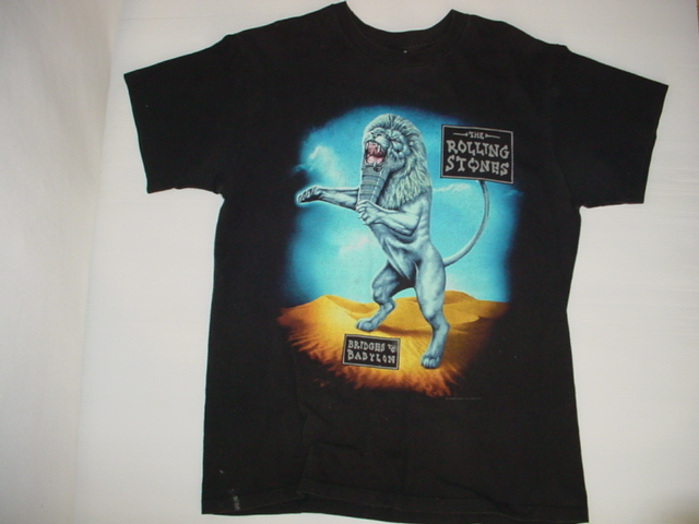 画像1: anvil アンヴィル ローリングストーンズ ツアーTシャツ