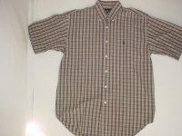 Ralph Lauren ラルフローレン 半袖BDシャツ チェック柄