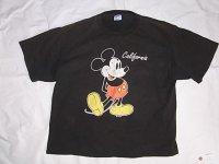 Disney ミッキーマウス プリントTシャツ