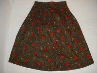 レトロ 花柄スカート