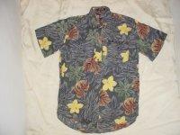Ralph Lauren CHAPS ラルフローレン 半袖BDシャツ 花柄