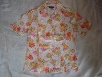 GRISBLANC 花柄半袖シャツ