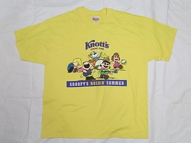 画像1: Hanes  スヌーピープリントTシャツ